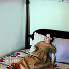 Doll on Four Poster Bed by Susan Savad