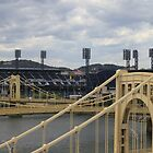 Bridges and  PNC Park  by modernmana