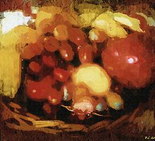 Earthtone Fruit Fresco by RC deWinter