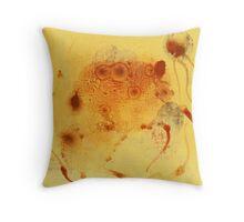 Bios Logos 1 - orignal acrylic abstact painting on canvas Throw Pillow