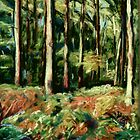 Queenswood, Herefordshire in Autumn by helikettle