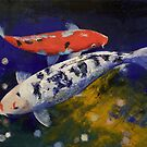 Bekko Koi Fish by Michael Creese