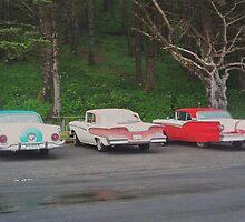 59 Ford, 59 Edsel and 57 Ford, all visiting from British Columbia by trueblvr