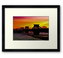"""""""Transition Through Contradictions"""" Framed Print"""