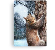 """""""Let It Snow"""" Canvas Print"""