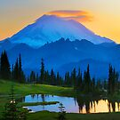 Mount Rainier Goodnight by Inge Johnsson