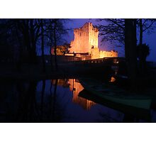 Ross Castle night view Photographic Print