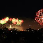 2010 fireworks at Sydney harbour bridge by Amit Ambardar