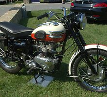 1957 Triumph TR6 Motorcycle by TeeMack