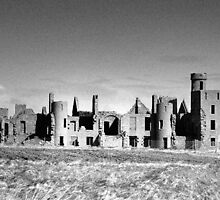 Slains Castle, Scotland by Scott Moncrieff