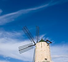 Xarolla Windmill by William Attard McCarthy