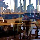 Carousel Reflections - Geelong Victoria Australia by Rhonda F.  Taylor