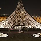The Museum Louvre Abstract Effect, Paris, France  by Anina Arnott
