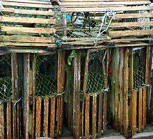 Lobster Traps by Nancy Barrett
