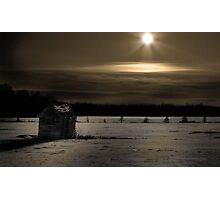 Moon Rising Photographic Print