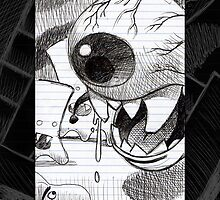 Eye Monster from the book by Mike Cressy