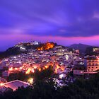 Purple,Spain by G. Brennan