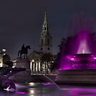 Trafalgar Sq 2 by G. Brennan