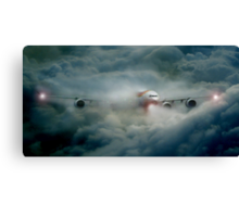 Storm in the clouds Canvas Print