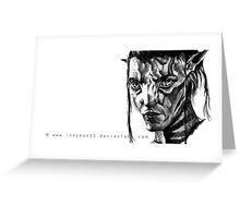 Jake Sully, Avatar. Greeting Card