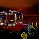 "1929 Ford Model A Canopy Pickup Truck ""The Pop Corn Truck""  by TeeMack"