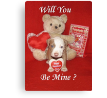 Will You Be Mine? Canvas Print