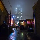 Frost Bank Alley by Nate Forman