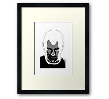 Yeh I'm looking at you. Framed Print