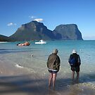 Lord Howe Island Lagoon by Robert Stephens