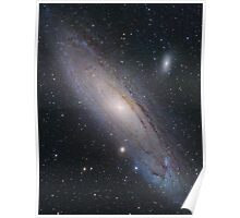 Andromeda Galaxy, M31 (New Mosaic) Poster