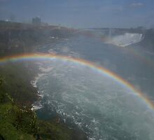 Rainbow Bridge, Niagara Falls by Allen Lucas