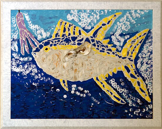 Fish On (After) by Kim McClain Gregal