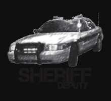 Sheriff Deputy Car by Brett Wicker