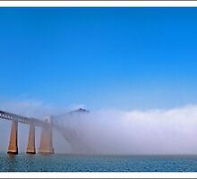 Foggy bridge by markgorman