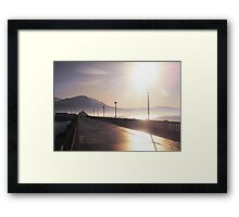 Christmas 2009 Fenit Kerry Ireland  Framed Print