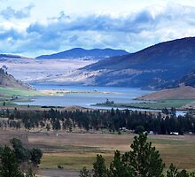 Lake and Nicola Valley by Jann Ashworth