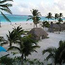 Tulum, Mexico from El Mirador by CheyAnne Sexton