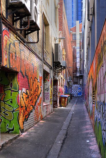 Croft Alley by Frank Yuwono