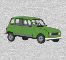 Renault 4 GTL Green by MangaKid