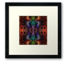 Fractal Artistry Framed Print