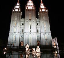Salt Lake City Temple by Jess Fleming