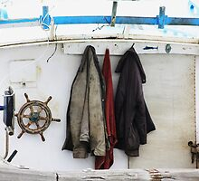 hanging about a boat by Karen E Camilleri