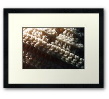Warmth and Comfort Framed Print