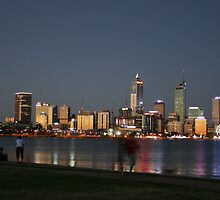 A Warm Summers Night - Perth, Western Australia by Leanne Allen