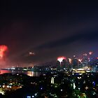 Sydney on New Year's eve IV by Sundar Singh