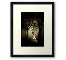 In search of my beloved Framed Print