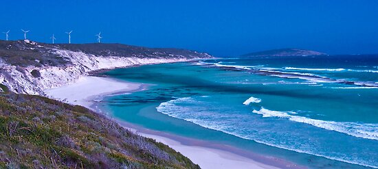 Nine Mile Beach, Esperance WA by Karen Stackpole