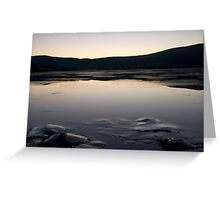 Iced Sea Scape Greeting Card