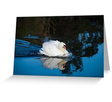 Strong Swan Greeting Card
