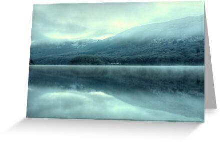 Mist on Coniston Water by VoluntaryRanger